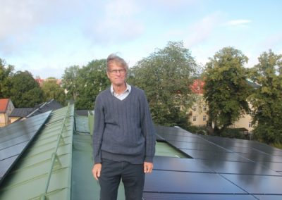 Årets solcellshjälte i Uppsala län
