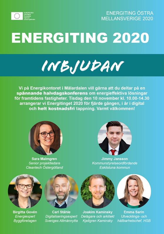 Energitingets inbjudan 2020