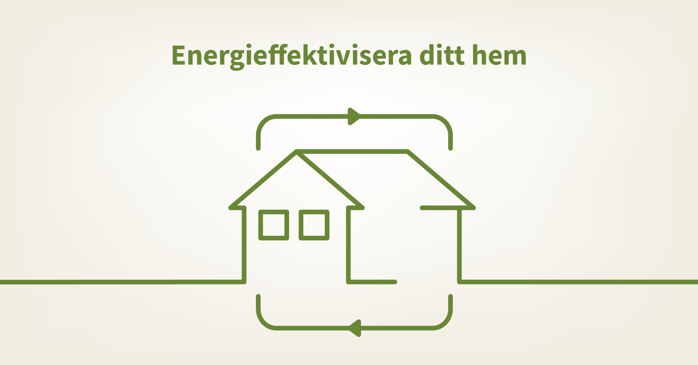 Energieffektivisera ditt hus